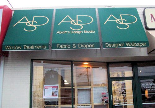 Awning Signs