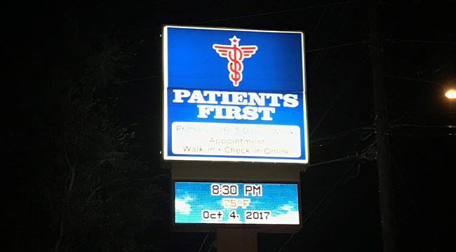 Patients First Blacklit